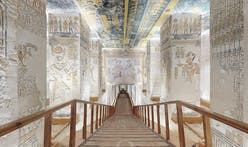 This 3D virtual tour lets you explore the ancient tombs of Pharaoh Ramses VI