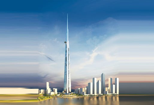Jeddah Tower construction reaches 63rd floor | News | Archinect