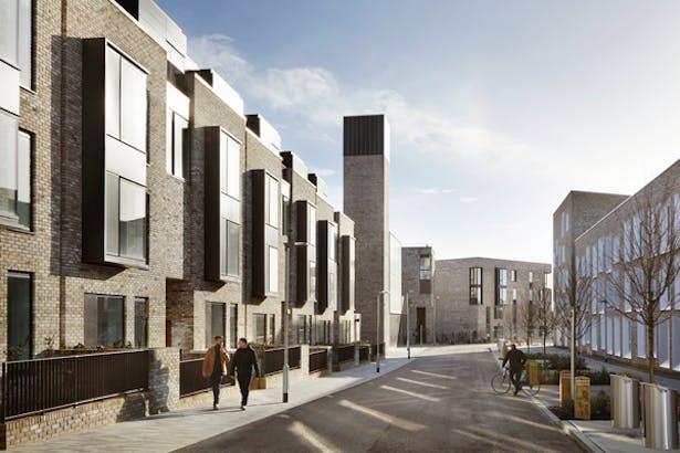 Exterior Apartments & Energy Centre © Jack Hobhouse