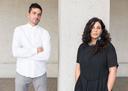 Ali Jeevanjee (left) and Poonam Sharma (right), founders of LOC Architects.