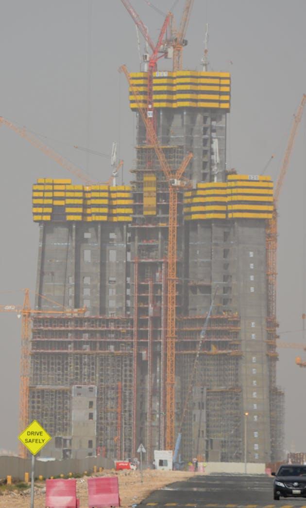 Megatall Jeddah Tower, formerly Kingdom Tower, 20% ...  Megatall Jeddah...