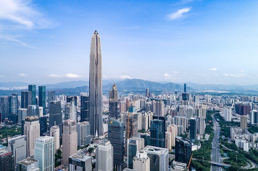 Best Tall Building 400 Meters and Above Category Winner: Ping An Finance Center, Shenzhen. Photo: Tim Griffith.