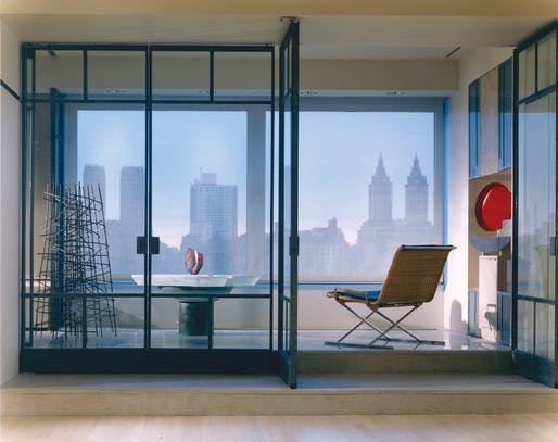 Art Collector's Apartment in NYC. Image courtesy of PKSB