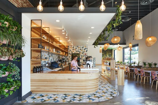 Voyager Craft Coffee: The Alameda by Studio BANAA. Photo: Mikiko Kikuyama.
