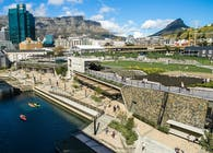 dhk Architects completes urban park in Cape Town that references historic Amsterdam Battery