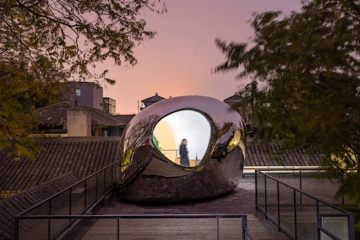 Hutong Bubble by Mad Architects. Image © Tian Fangfang.