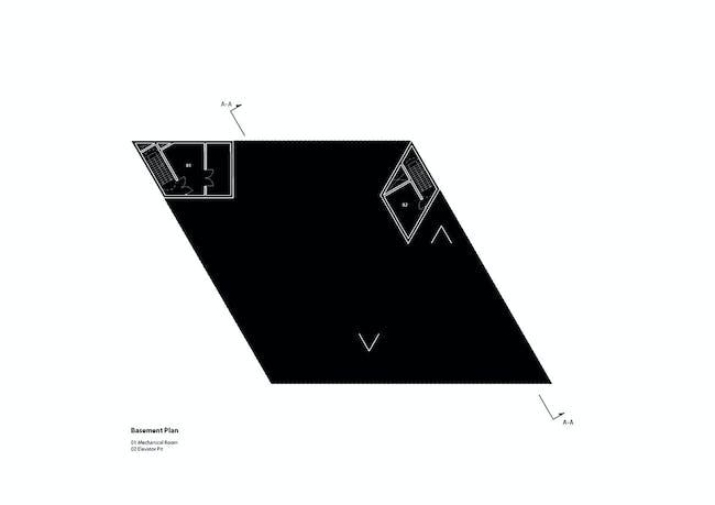 Floor plan - B1(Image: studio SH)