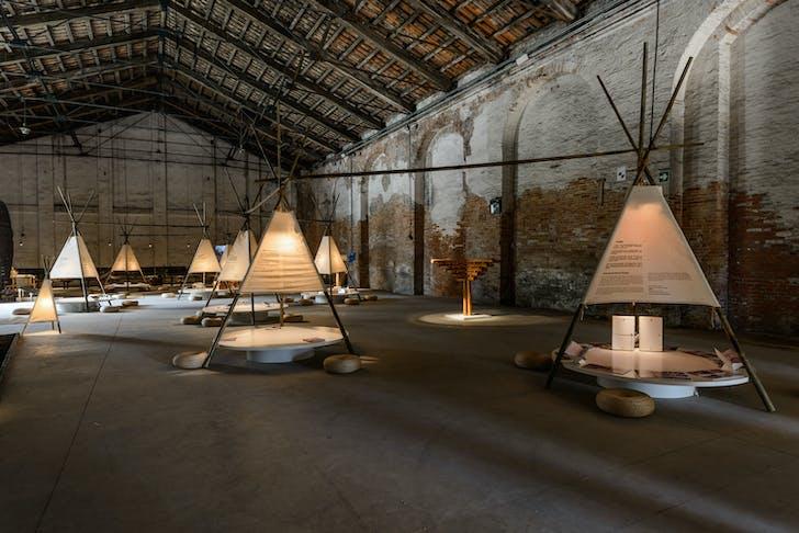 The Chinese Pavilion at the 2016 Venice Biennale. Photo by Andrea Avezzù, courtesy of La Biennale di Venezia.