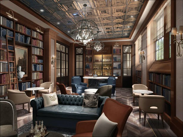 Rendering of the House Library