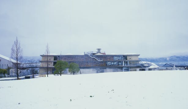 View from East During Winter