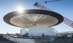 Apple's new spaceship campus is taking shape