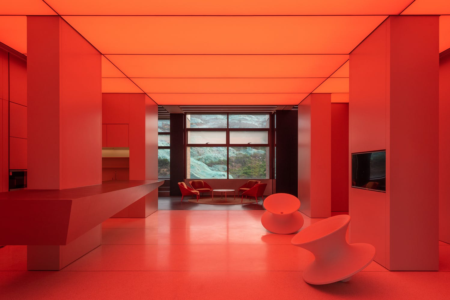 What Color Are Your Office Walls How Color And Lighting Shapes Mood And Productivity In The Office News Archinect