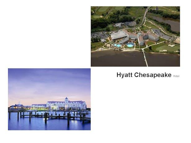 Hyatt Regency Chesapeake Resort Complex