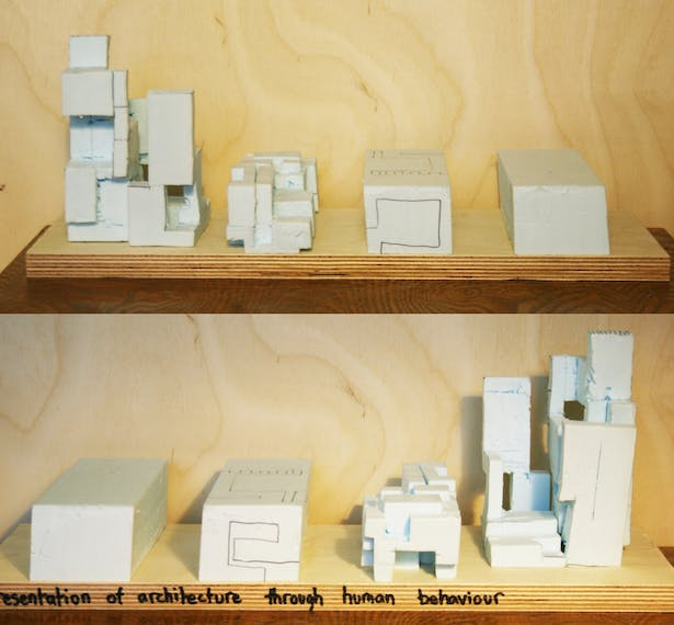 Exploding and rebuilding model