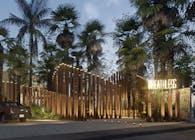 Breathless beach club. Tulum