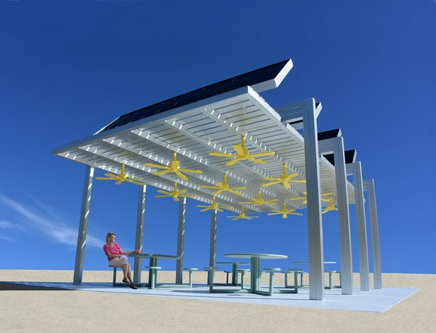 Larger Cool Spot Pavilion