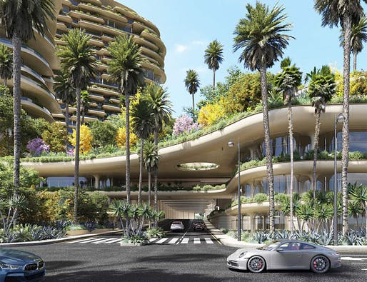 The $2 billion One Beverly Hills was approved by the Beverly Hills City Council. All Renderings: DBOX for Alagem Capital Group