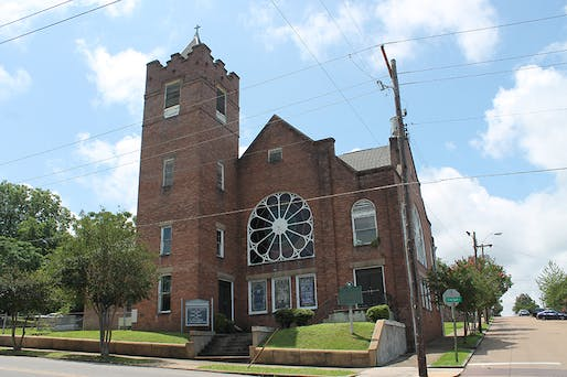 Bethel AME Church in Vicksburg. It was the first African Methodist Episcopal Church in Mississippi. Photo by MSU Assistant Professor of Architecture Christopher Hunter