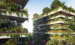 Stefano Boeri envisions cuboid vertical forests for Egypt's new capital