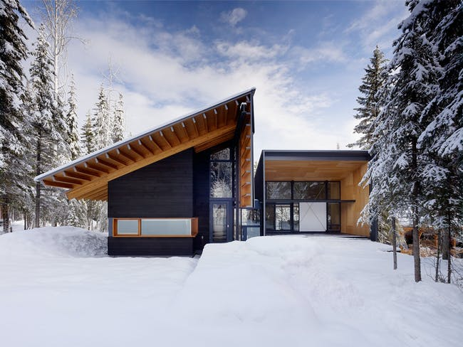 Kicking Horse Residence (British Columbia) by Bohlin Cywinski Jackson. Photo © Matthew Millman