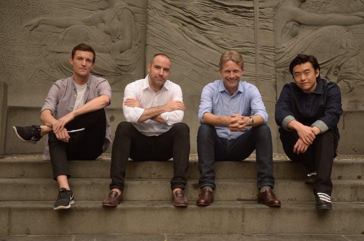 Atema Architecture Staff. Photo by David Bohl.