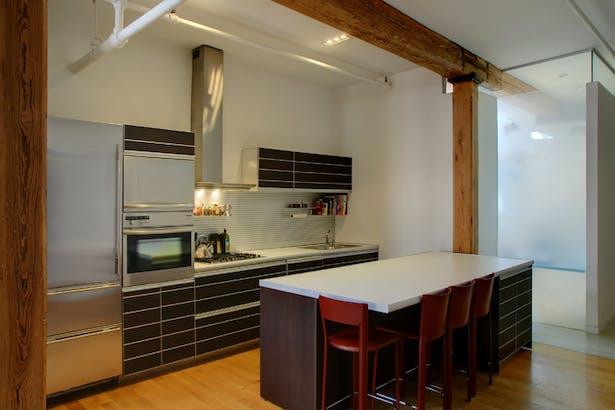 E. Pearce Revisited Kitchen Loft. Photo: T.G. Olcott