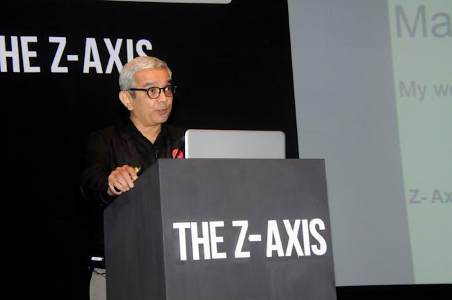 Bimal Patel. Image courtesy of Z-Axis.