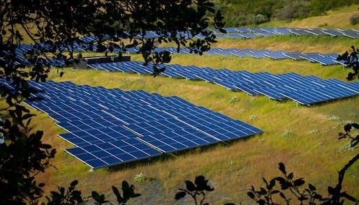Solar Farm. Image © Michael Mees