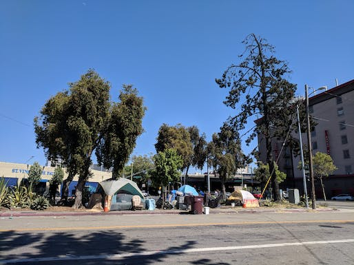 California's homelessness crisis has drawn condemnation from the White House. Image courtesy of Wikimedia user Grendelkhan.