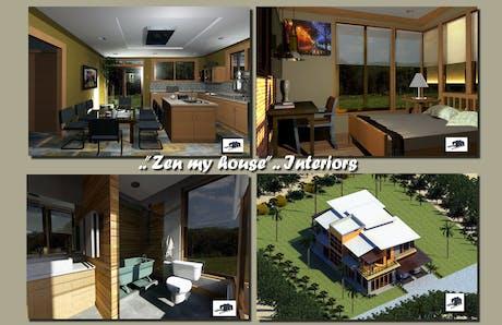 'Zen my house'..Project-Interiors