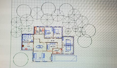 axonometric Residental view of a housing or designating an orthographic projection of an object, such as a building, on a plane inclined to each of the object; three-dimensional perspective to be optimistic on design criteria is the space within the project my goal is make the design fit within the building envelope it style function and resource that playback major role in the design fades. The perspective view show what the interior of the design plan layout for furnature and the circulation...