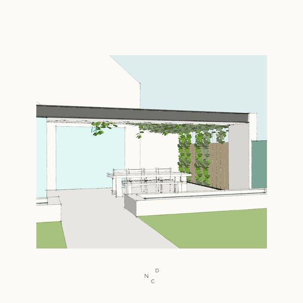 De Nieuwe Context ontwerpt lommerrijke buitenruimte in Nederweert
