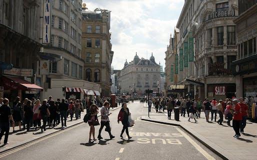 Warwick St in Mayfair. Image via wikimedia.org