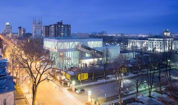 A tour of OMA's Pierre Lassonde Pavilion