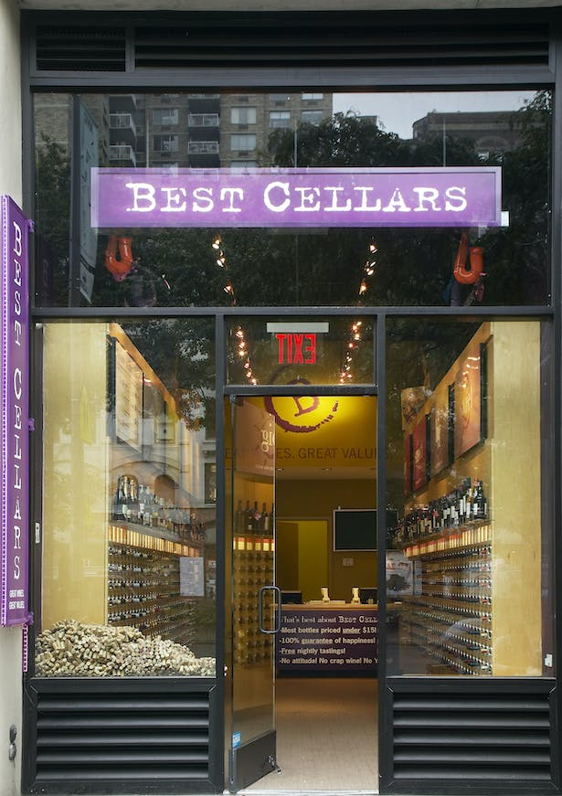 An existing retail wine shop in New York City, Best Cellars is known for the simplicity of how it organizes its wines for the ease of the customer.
