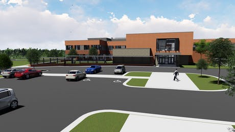 Currently working on an addition to Chapin Middle School