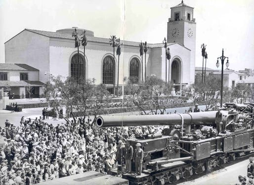 Union Station's opening. Image via the LA Times.
