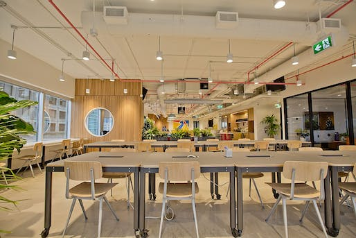 WeWork's dramatic collapse raises concerns for office space. Image courtesy of Wikimedia user GoToVan.