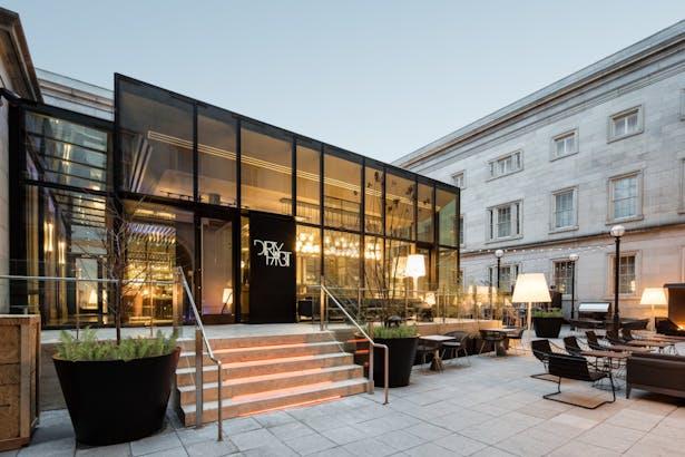 Glass box in dc bittiker architecture archinect - Interior design firms washington dc ...