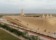 Seventy Peaks Multipurpose Complex, by Habibeh Madjdabadi (2021)