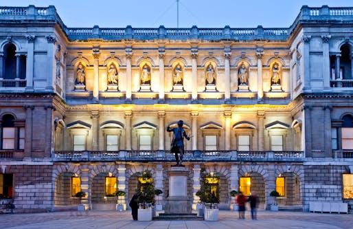 Royal Academy. Photo: Fraser Marr.