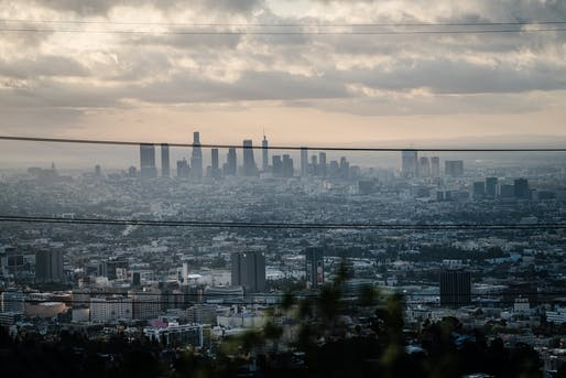 View of Los Angeles. Image courtesy of Cameron Stewart.