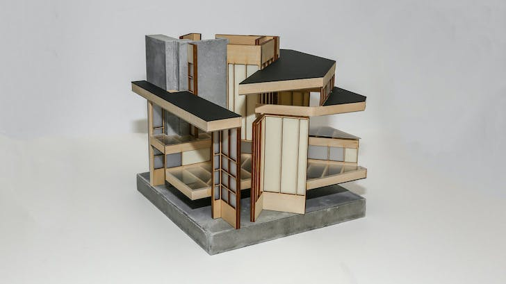 Student work by Joseph Arnold. Image courtesy of UCLA Architecture and Urban Design