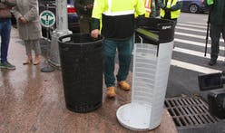 This is New York City's new and improved urban trash can