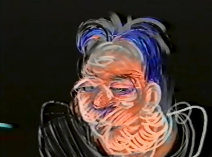 Still from 'Painting with Light' documentary. YouTube video.