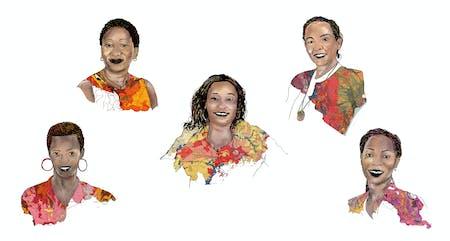Victoria Heilman, Emma Miloyo, Devothe Mukeshimana, Assumpta Nnaggenda-Musana, Maliam Mdoko. Illustrations by Dev Aswala.