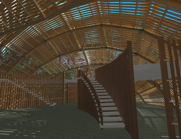 Interior Perspective - 3ds Max
