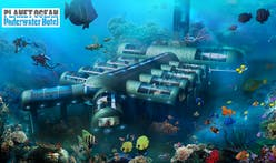 A luxury hotel 20,000 leagues under the sea