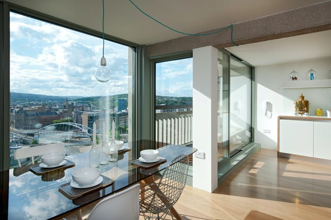 Park Hill Phase 1, Sheffield by Hawkins\Brown with Studio Egret West; Photo: Peter Bennett