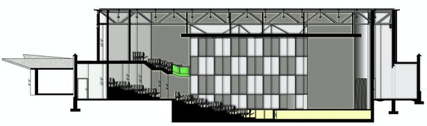 Section 2 CAD and rendered in Photoshop